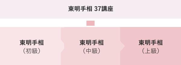 東明手相 37講座 東明手相 初級→東明手相 中級→東明手相 上級