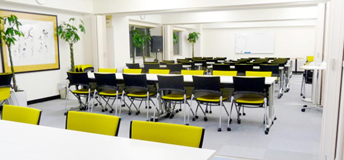 東京本校は4教室